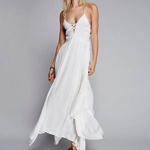 NWT Free People Coconuts All Day Maxi Dress Large